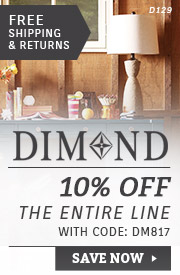 Dimond Lighting | 10% Off the Entire Line