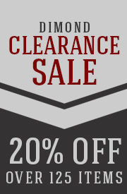 20% Off Over 125 DIMOND Items!