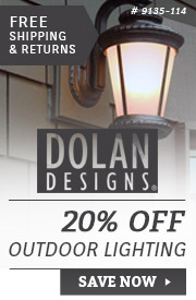 Dolan Designs | 20% Off Outdoor Lighting