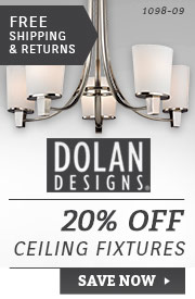 Dolan Designs | 20% Off Chandeliers & Ceiling Fixtures