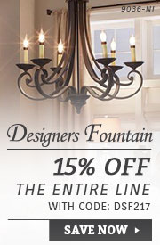 Designers Fountain | 15% Off the Entire Line