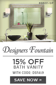 Designers Fountain | 15% OFF Bath Vanity | with code: DSF419 | Save Now
