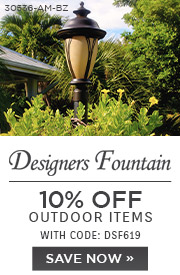 Designers Fountain | 10% Off Outdoor Items | With Code: DSF619 | Save Now