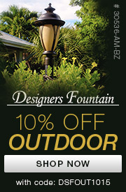 Designers Fountain | 10% off Outdoor
