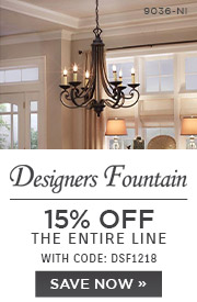 Designers Fountain | 15% OFF The Entire Line | with code: DSF1218 | Save Now