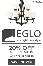 Eglo | 20% OFF Select Skus | No Code Required