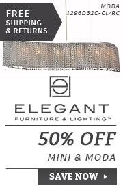 Elegant Lighting | 50% Off the Mini & Moda Collections