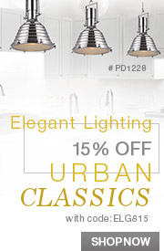 Elegant Lighting | 15% off URBAN CLASSICS!