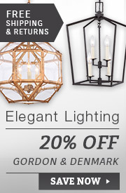 Elegant Lighting | 20% Off Gordon & Denmark Collections