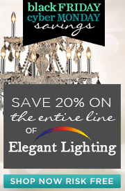 ELEGANT LIGHTING | 20% off the ENTIRE line!