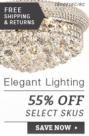 Elegant Lighting | 55% Off Select SKUs