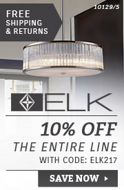 ELK Lighting | 10% Off the Entire Line