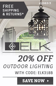 ELK Lighting | 20% OFF Outdoor Lighting