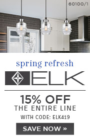 ELK Lighting | 15% OFF The Entire Line | with code: ELK419 | Shop Now