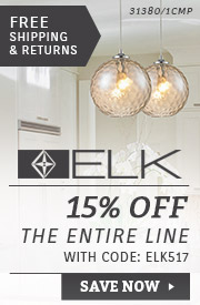 ELK Lighting | 15% Off the Entire Line
