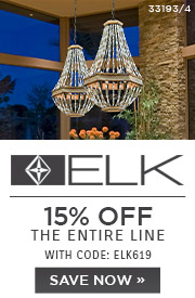 ELK Lighting | 15% Off The Entire Line | With Code: ELK619 | Save Now