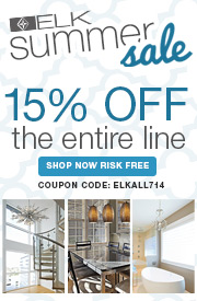 Save 15% on the ENTIRE ELK LIGHTING LINE!