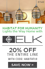 Habitat for Humanity Lights the Way Home with ELK | 20% Off the Entire Line | With Code: HABITAT19 | Save Now