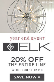 Elk Lighting | 20% OFF The Entire Line | with code: ELK1118