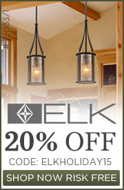Elk Lighting l 20% off the Entire Line