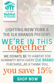 ELK Lighting | Habitat for Humanity | 15% OFF The Entire Line