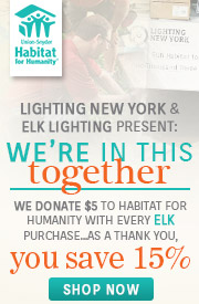 Elk Lighting | Habitat for Humanity | 10% OFF Entire Line