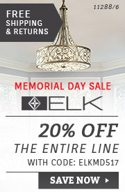 ELK Lighting | Memorial Day Sale | 20% Off the Entire Line