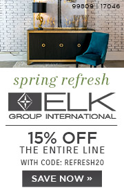 Spring Refresh | Elk Group International | 15% Off the Entire Line | No Code Required | Save Now