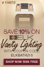 SAVE 10% on ELK Vanity Lighting!