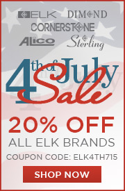 Save 15% on ELK Brand Lighting!