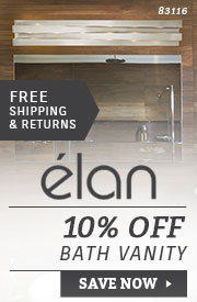 Elan | 10% Off Bath Vanity