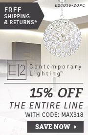 ET2 Contemporary Lighting | 15% OFF The Entire Line