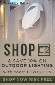 Shop ET2 & Save 10% on OUTDOOR LIGHTING!