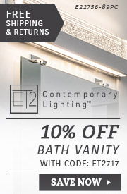 ET2 Lighting | 10% Off Bath Vanity