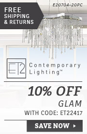 ET2 Lighting | 10% Off Glam Collections