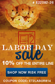 LABOR DAY SALE: 10% off the ENTIRE ET2 Line!