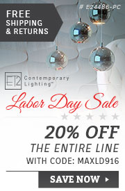 ET2 Lighting | Labor Day Sale | 20% Off the Entire Line