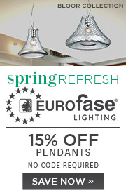 Spring Refresh | EuroFase | 15% Off Pendants | No Code Required | Save Now