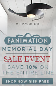 FANIMATION Memorial Day Sale Event. SAVE 10% on the ENTIRE LINE!