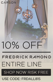 10% off FREDRICK RAMOND Entire Line!