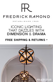 Fredrick Ramond | Iconic Lighting that Dazzles with Dimension & Drama | Free Shipping & Returns