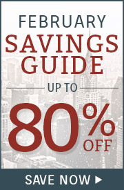 January Savings Guide! Up to 20% OFF.