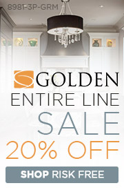 Golden Lighting | 20% Off The Entire Line