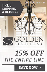Golden Lighting | 15% Off the Entire Line