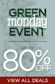 Green Monday Event | Up To 80% OFF | View All Deals