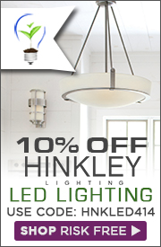 10% OFF HINKLEY LED Lighting!
