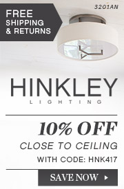 Hinkley | 10% Off Close to Ceiling