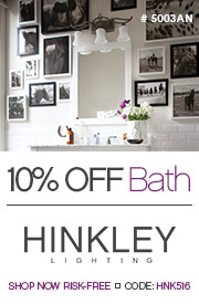 Hinkley Lighting | 10% OFF Bath Lighting