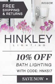 Hinkley | 10% Off Bathroom Lighting
