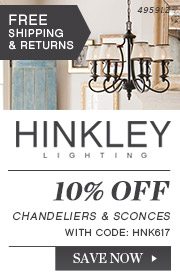 Hinkley | 10% Off Chandeliers & Sconces